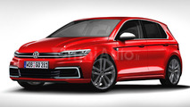 2017 Volkswagen Golf rendering