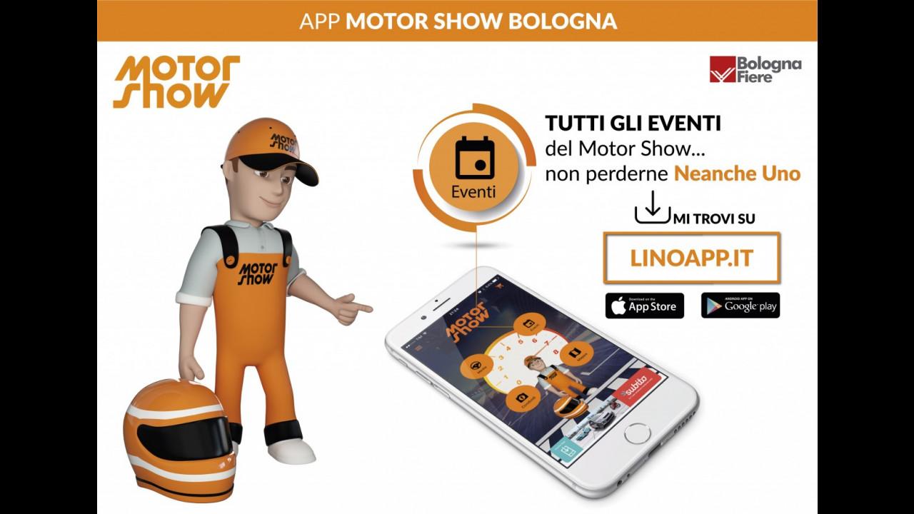 Motor Show 2016, l'App ufficiale