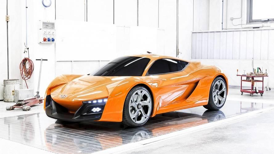 Ferrari-rivális kétüléses sportautó készít a Genesis