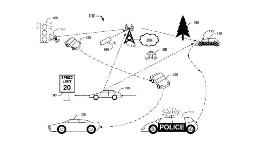 Ford Autonomous Police Car Patent