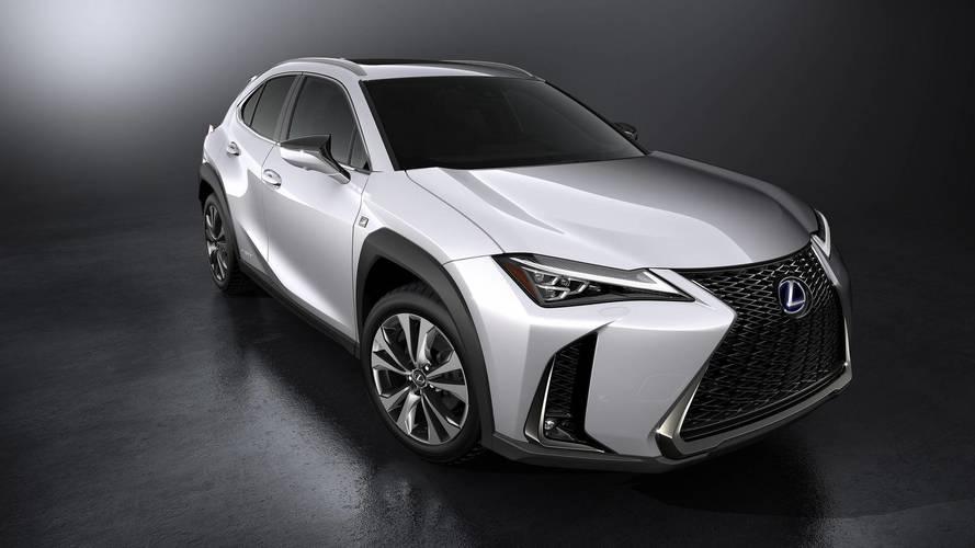 Lexus UX 2018: fotos oficiales
