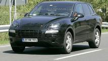 Porsche baby Cayenne spy photo