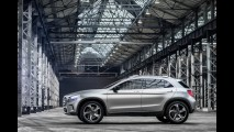 Vazou: veja detalhes do Mercedes GLA Concept, o SUV do Classe A