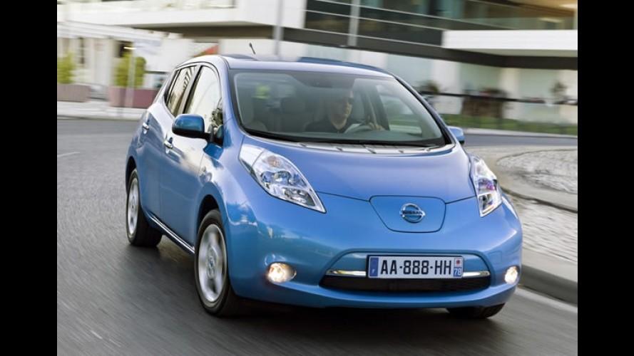 Nissan planeja lançar versão mais barata do Leaf