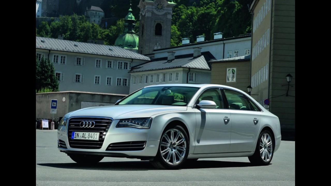 Próxima geração do Audi A8 chega em 2016 com carroceria feita em alumínio híbrido