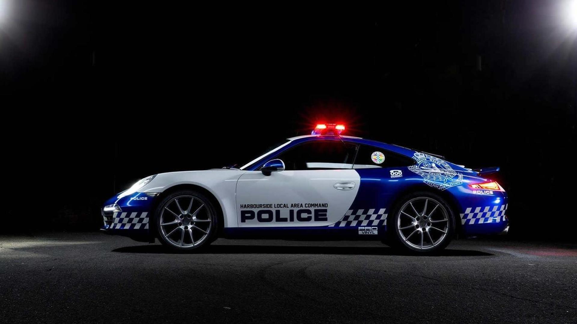Полицейский Порше 911 Каррера