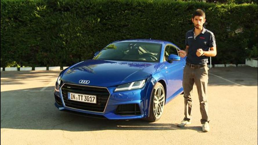 Nuova Audi TT: sportiva sfiziosa, senza esagerare [VIDEO]