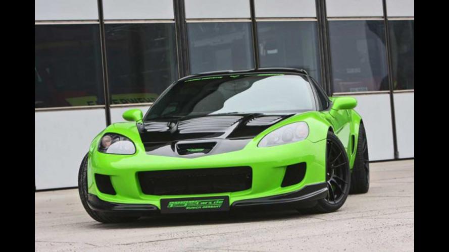 Geiger Corvette Z06: verde dalla rabbia
