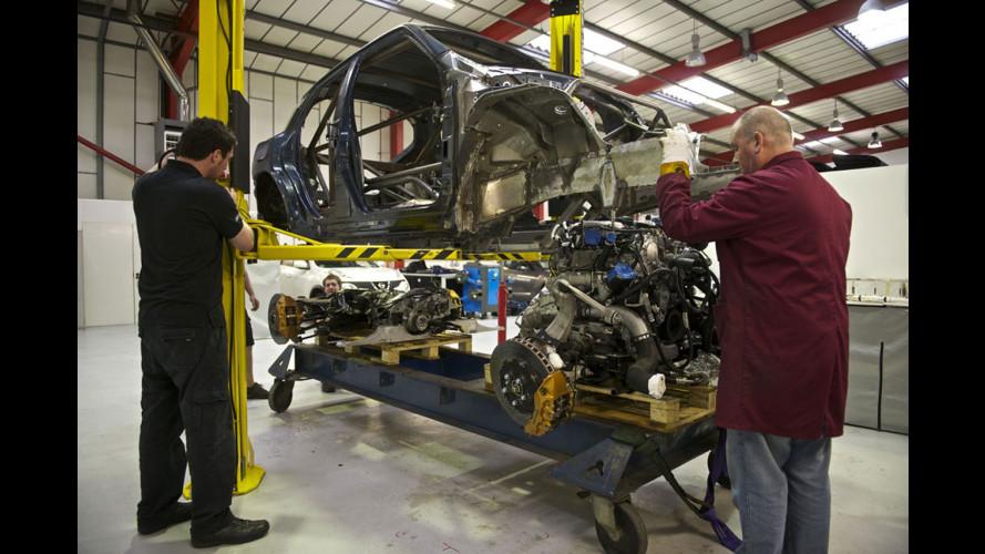 Nissan Juke-R: nuove foto e il sound del motore