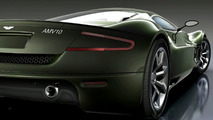 Aston Martin Supercar Concept Artists Rendering