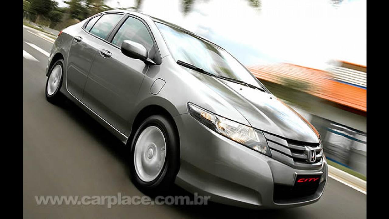 Honda City ultrapassa a marca de 9.000 unidades vendidas em 100 dias