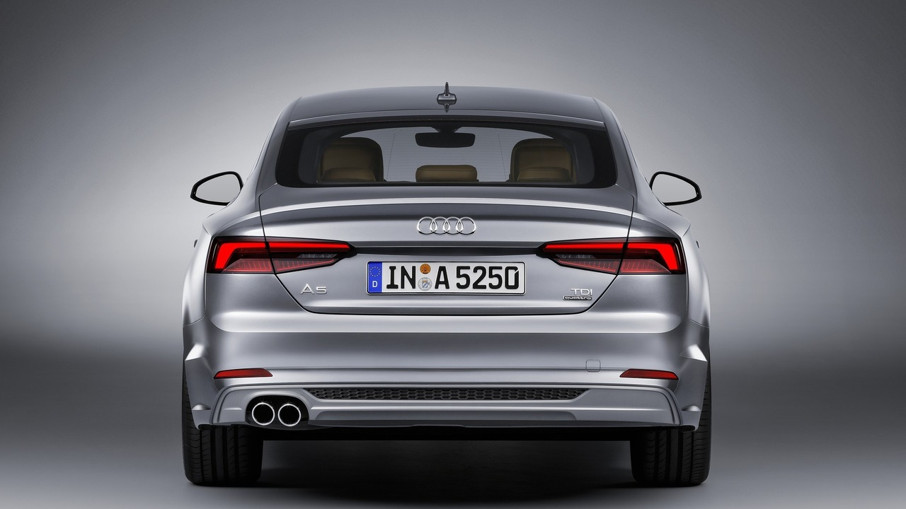 2018 audi a5 and s5 sportback revealed ahead of paris debut. Black Bedroom Furniture Sets. Home Design Ideas