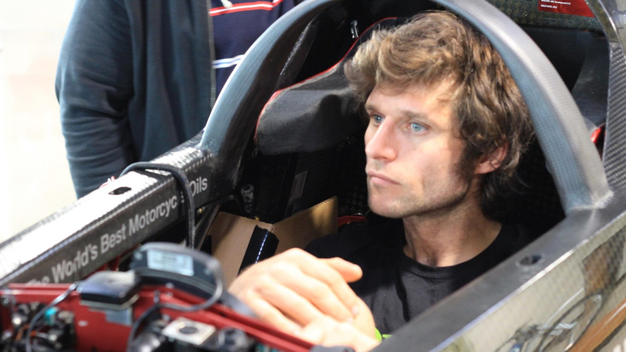 Triumph and Guy Martin shooting for motorcycle land speed record