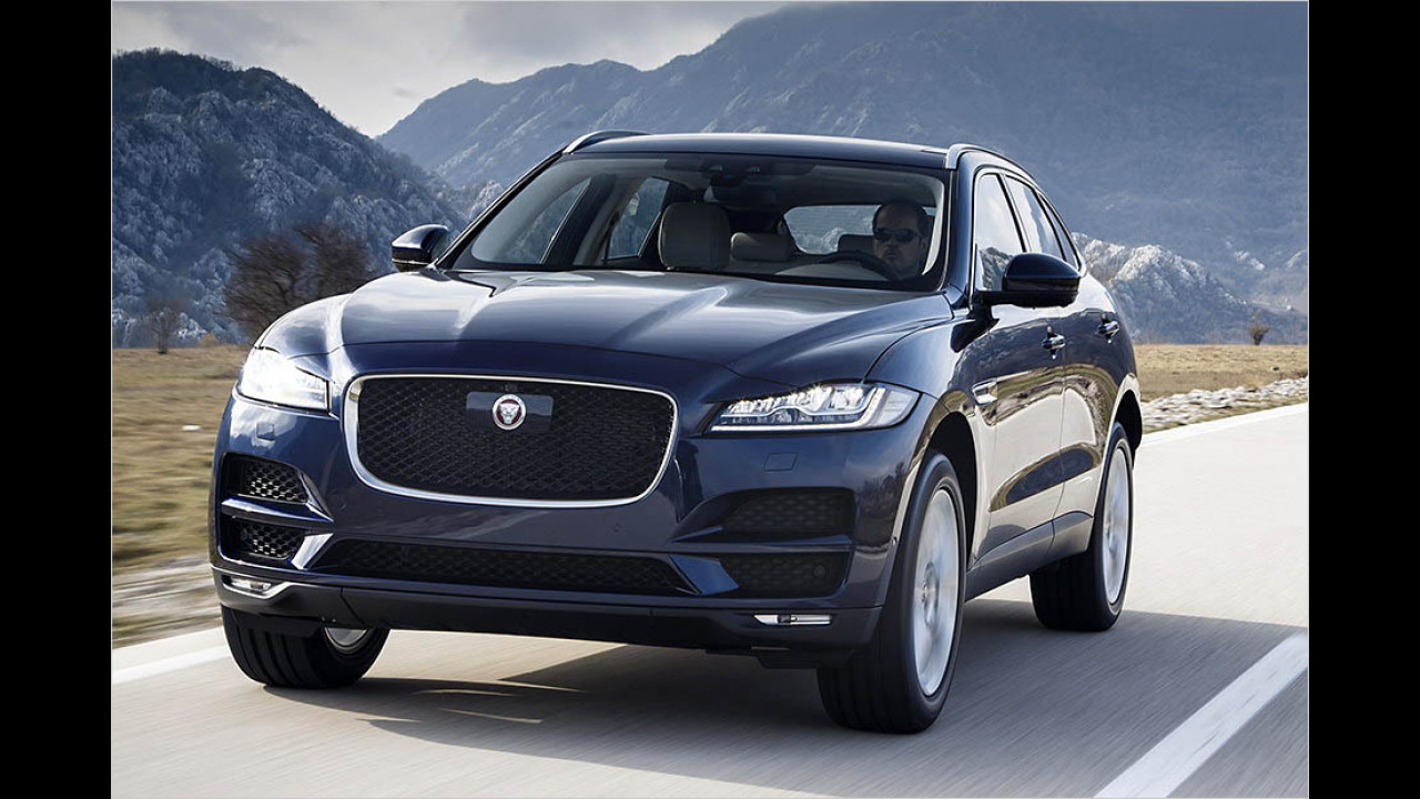 Women's World Car of the Year 2016: Jaguar F-Pace
