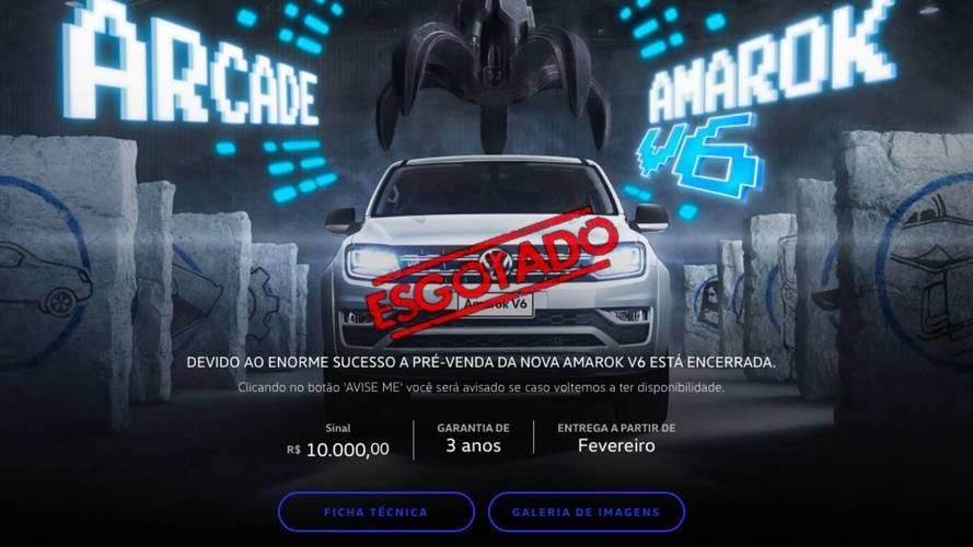 Nova Volkswagen Amarok V6 esgota pré-venda em apenas 1 dia
