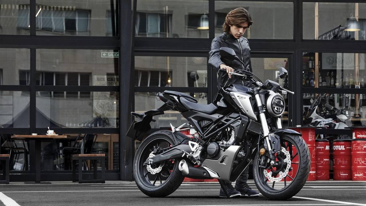 Honda CB125R 2018