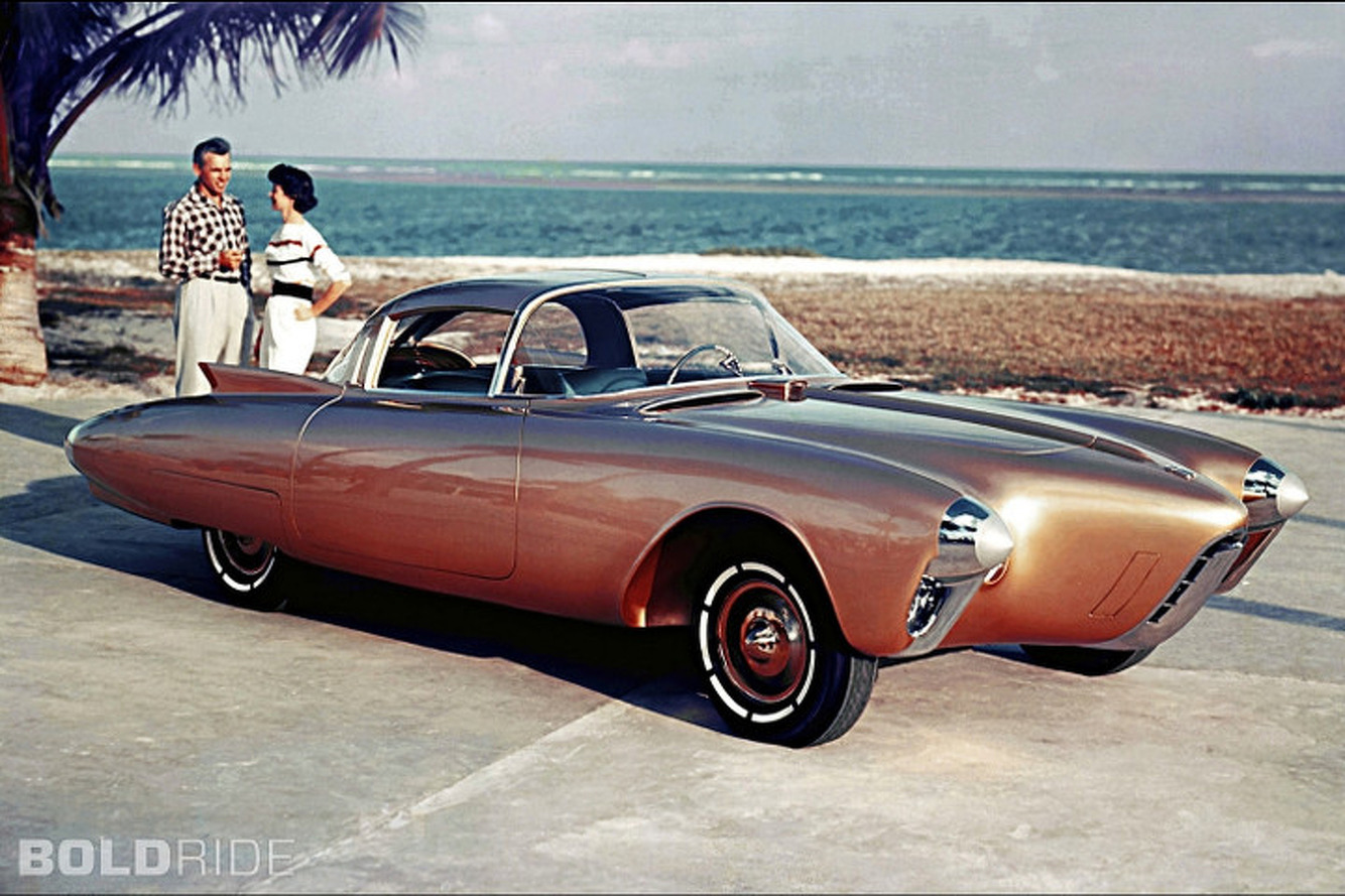 The 1956 Oldsmobile Golden Rocket: A Concept for the Jet Age
