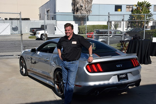 I Almost Blew Up Chip Foose's 810HP Mustang