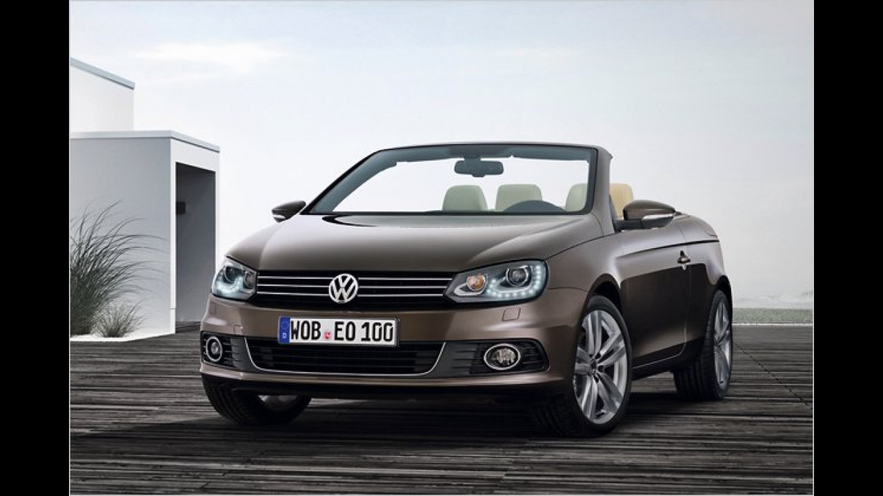 VW Eos Facelift
