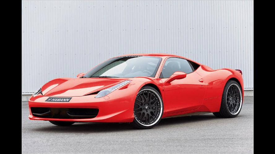 Fetzige Felgen für den Ferrari 458 Italia