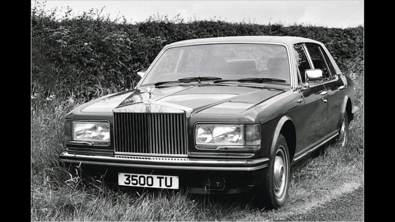 30 Jahre Rolls-Royce Silver-Spirit