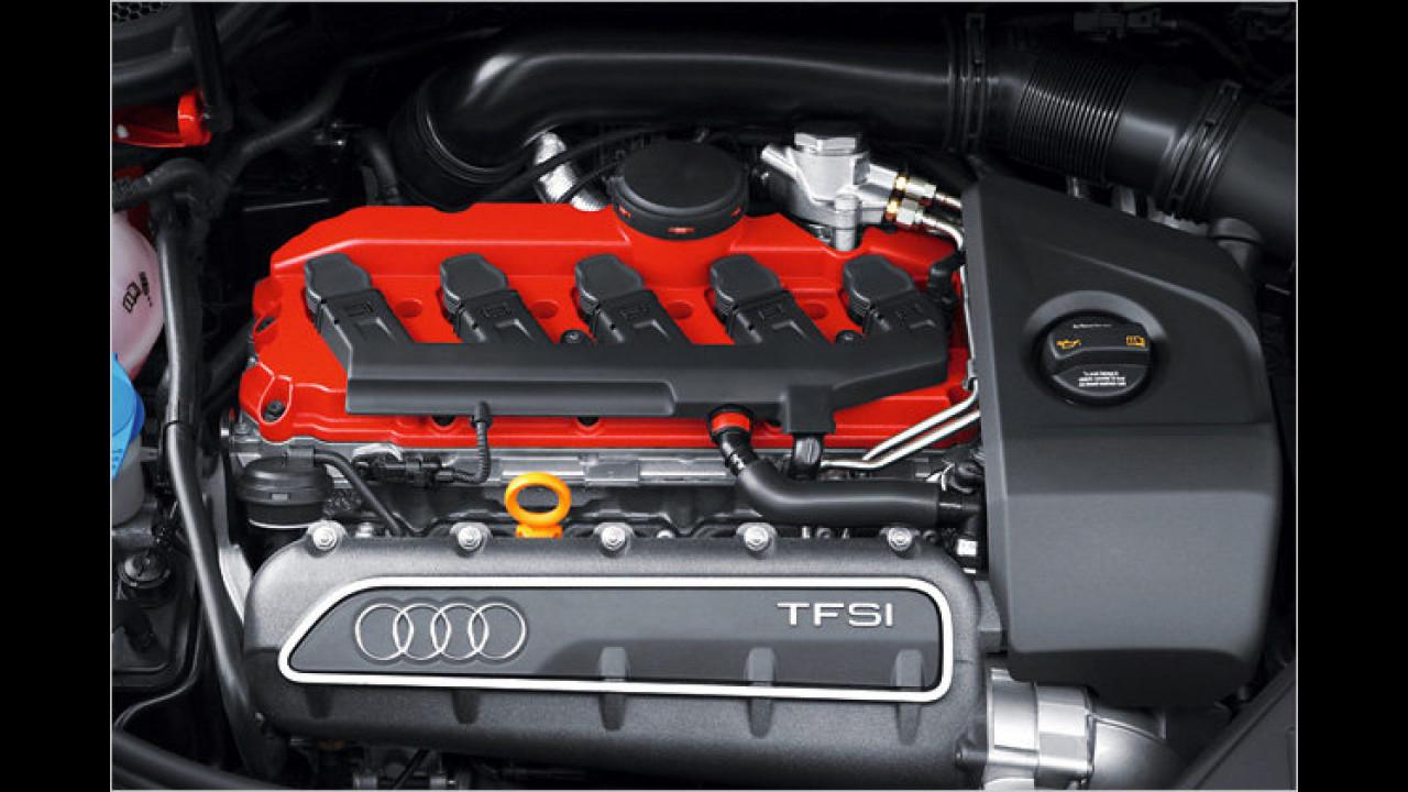 Bester Motor von 2,0 bis 2,5 Liter Hubraum: Audi 2,5-Liter-Fünfzylinder-Turbo