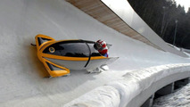 RAF bob sled refurbished by Lotus