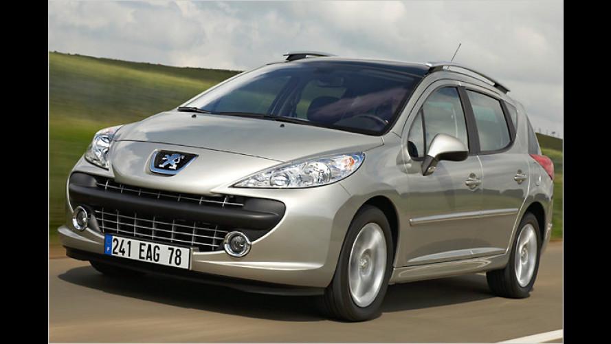 Ganz schön erwachsen geworden: Peugeot 207 SW im Test