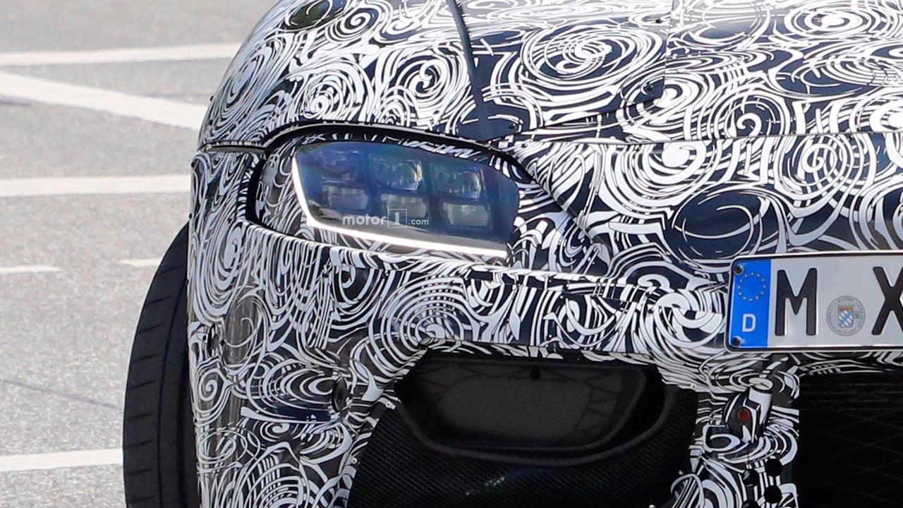 2018 Toyota Supra Spy Pics