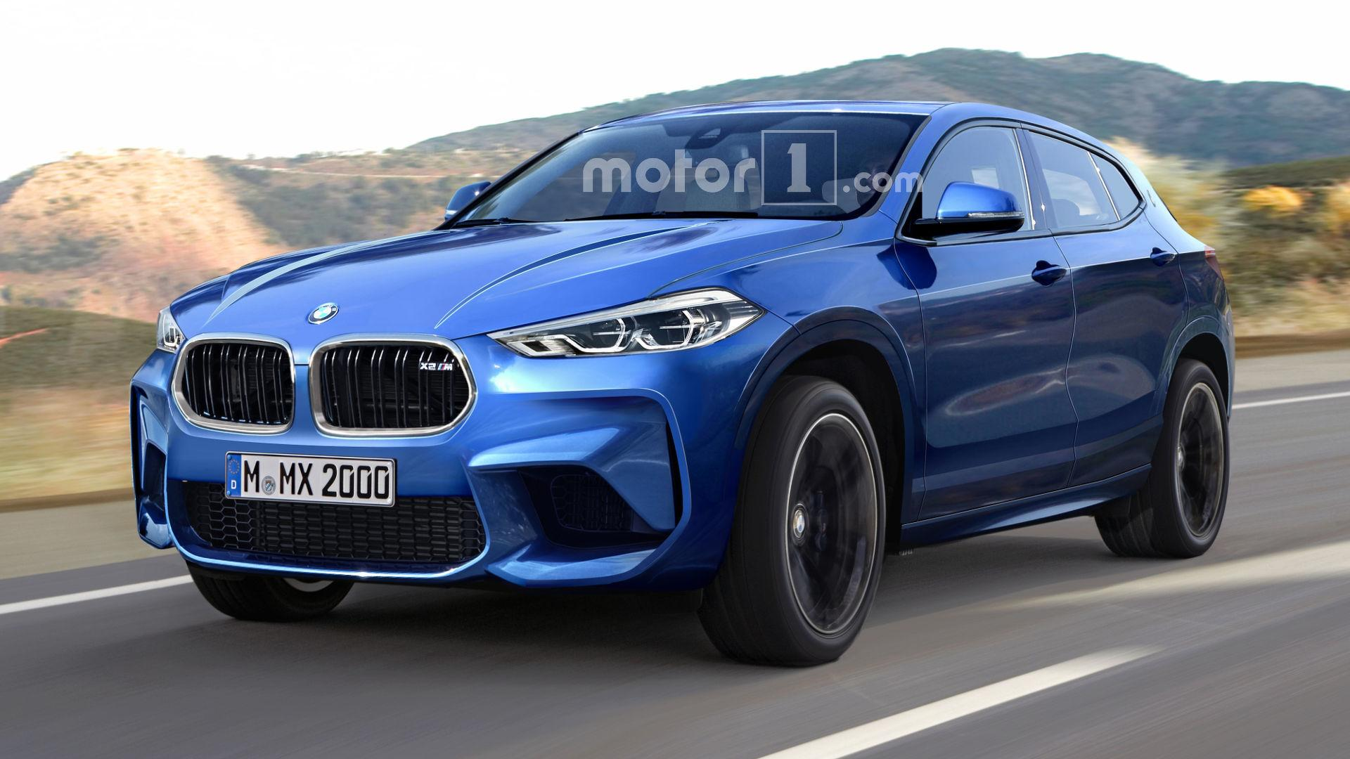 bmw x2 m rendered with aggressive cues. Black Bedroom Furniture Sets. Home Design Ideas