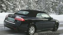 SPY PHOTOS: Saab 9-3 Convertible Facelift