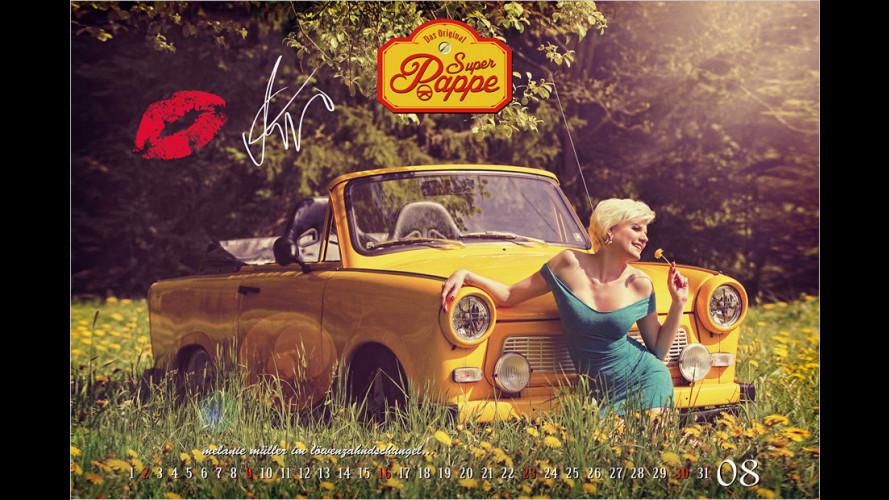 Super Pappe: Der Trabi-Kalender 2015