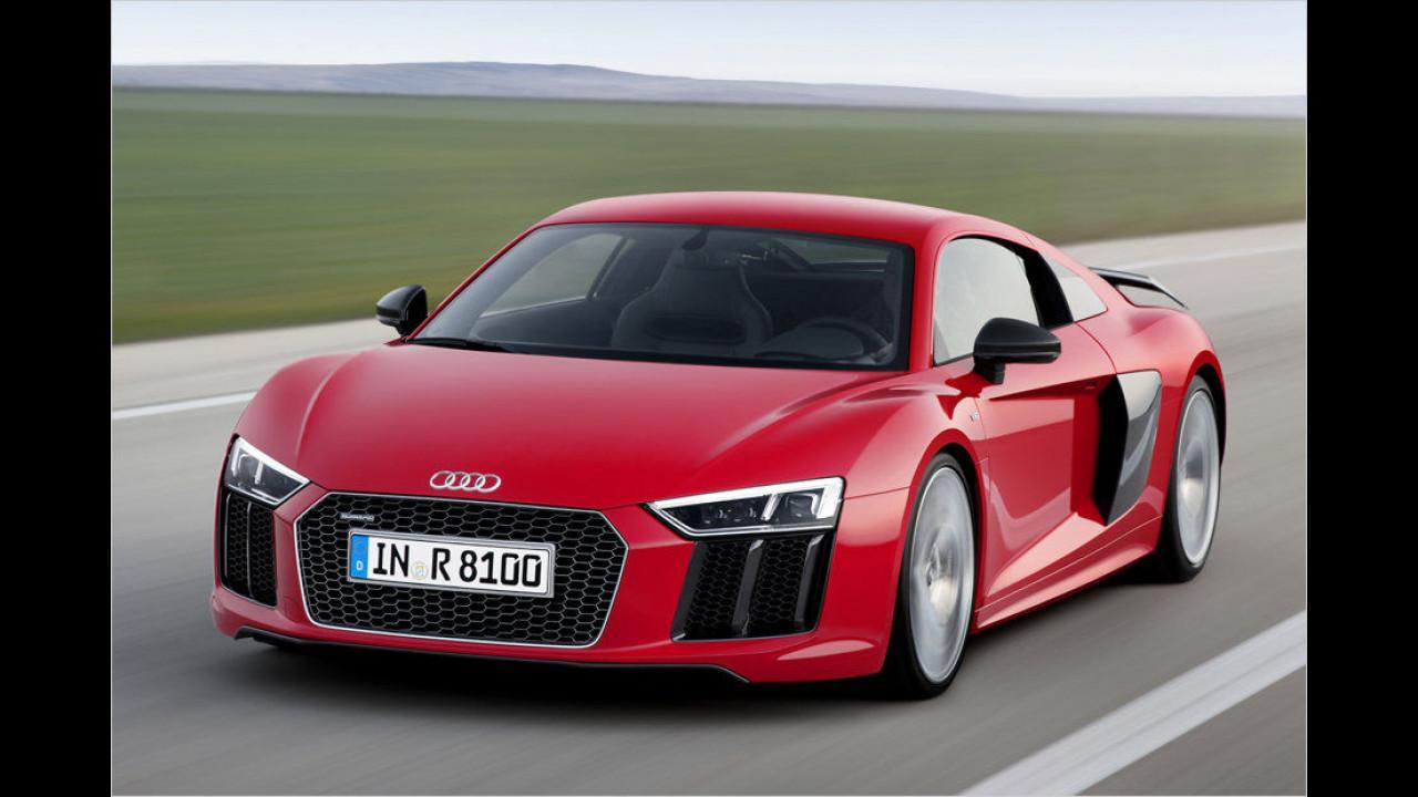 Audi R8: Platz 1 ,World Performance Car of the Year