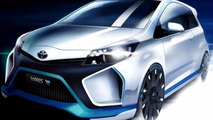 Toyota Yaris Hybrid-R Concept 19.08.2013