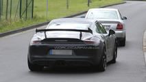 Porsche Cayman GT3 / GT4 spy photo