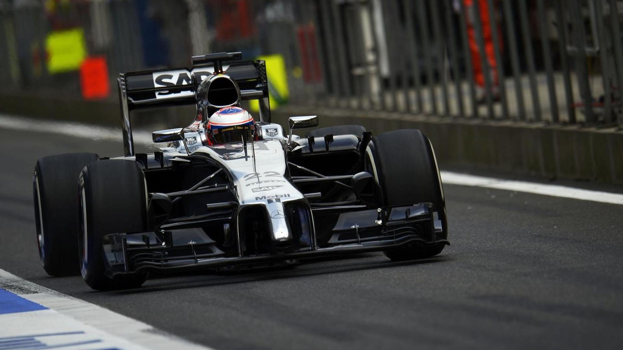Jenson Button (GBR) in his McLaren MP4-29, 18.04.2014, Chinese Grand Prix, Shanghai / XPB