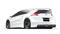 Honda CR-Z MUGEN preview design sketches 17.03.2011