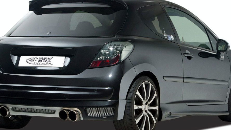 RDX RaceDesign Does the Peugoet 207