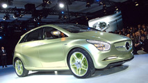 Mercedes BlueZero Concept at 2009 Detroit Auto Show