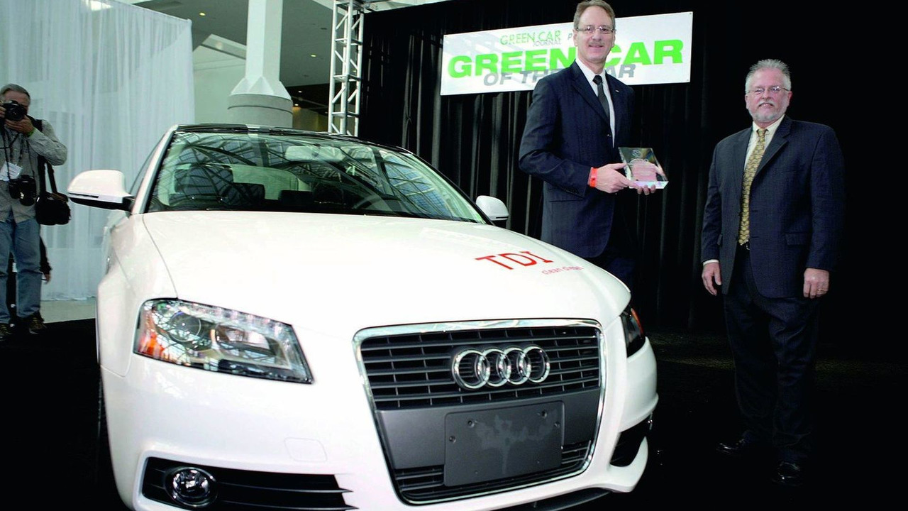 Audi A3 TDI is Green Car of the Year 2010