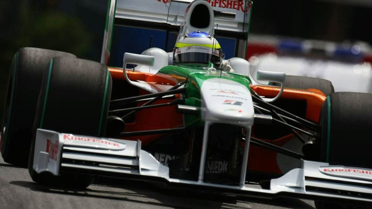 Giancarlo Fisichella, Force India F1 Team, Monaco Grand Prix 21.05.2009