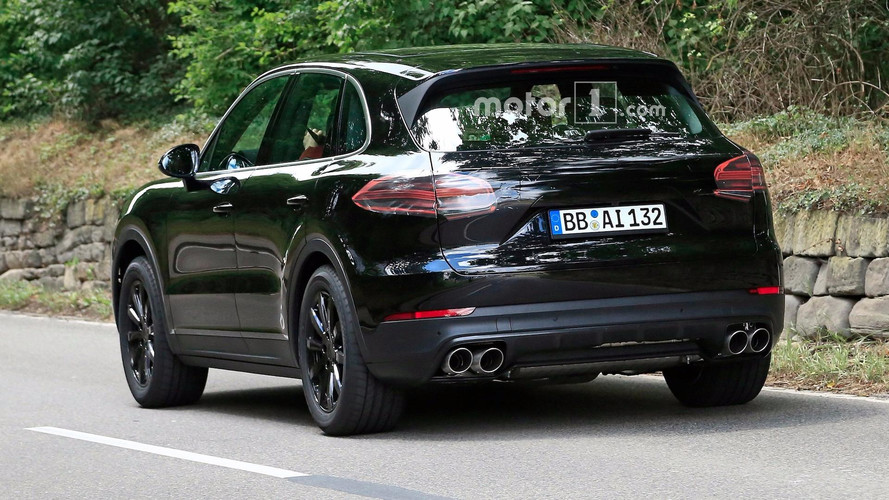2018 Porsche Cayenne New Spy Photos