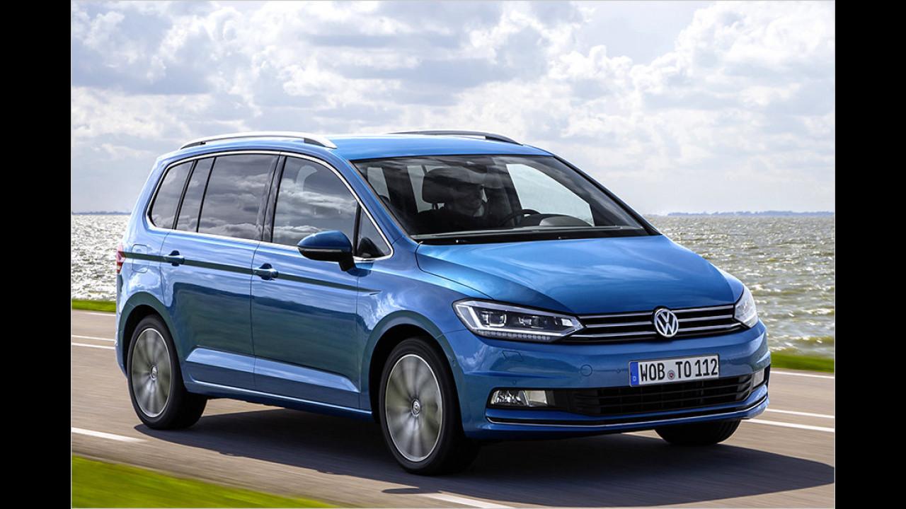 Vans: VW Touran als Bestseller
