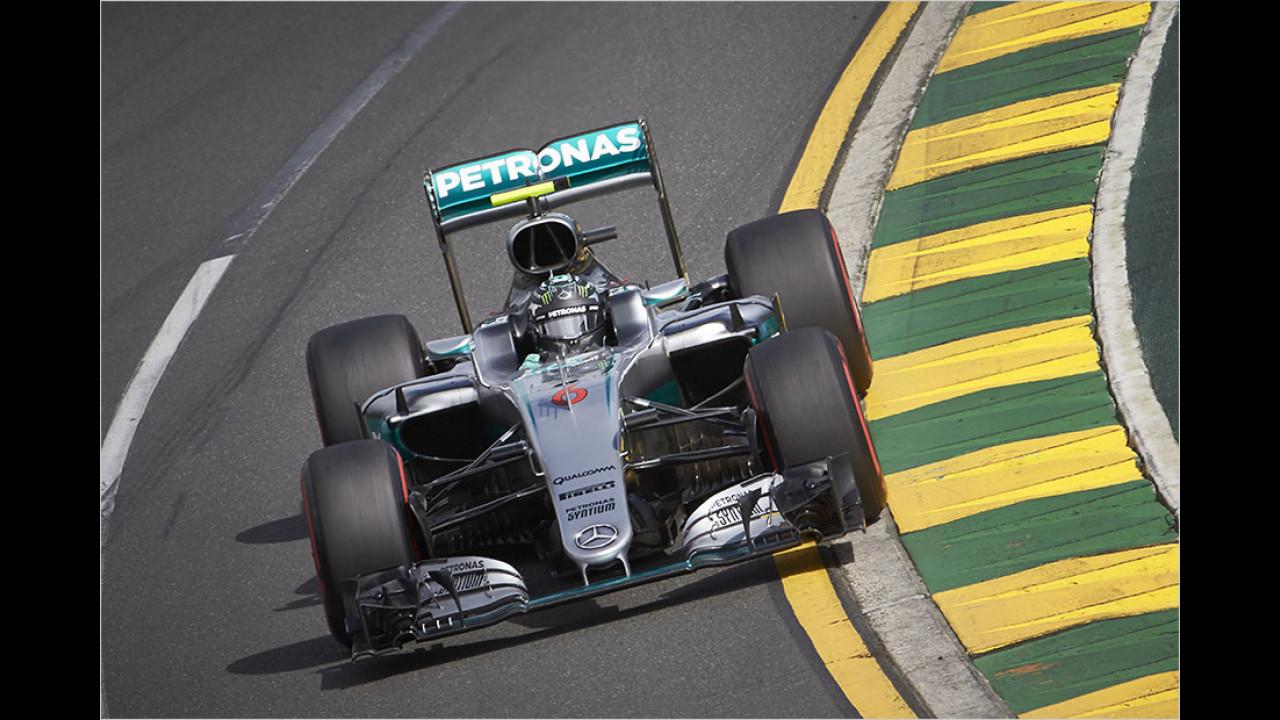 seit 2012: Mercedes-AMG in der Formel 1