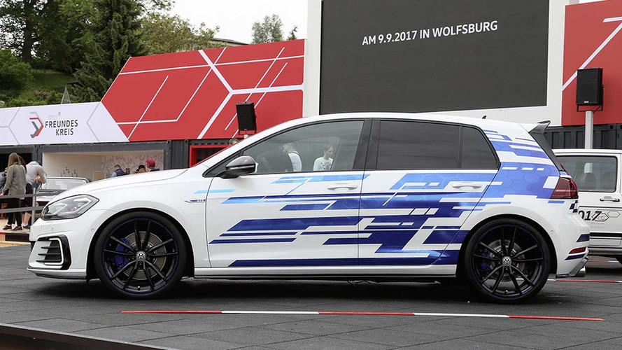 Volkswagen Golf GTE Concept, más prestaciones en Wörthersee 2017
