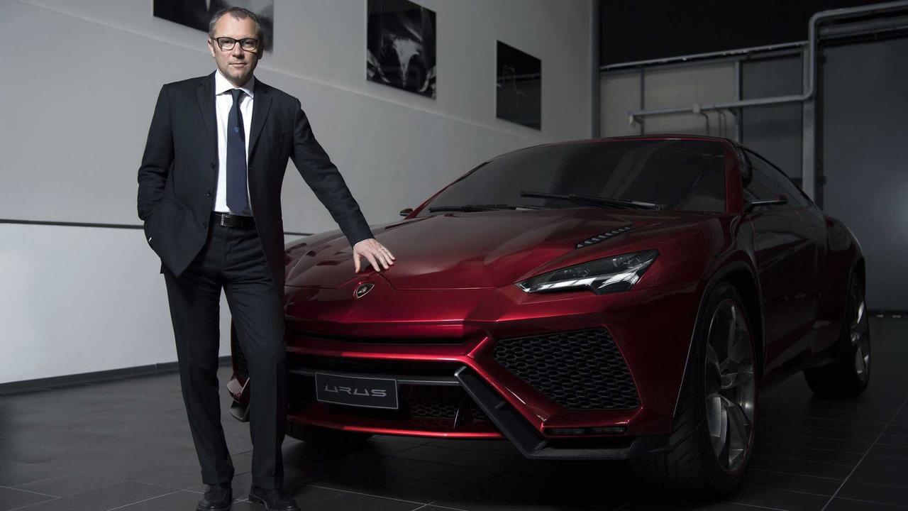 Lamborghini Urus concept and Stefano Domenicali