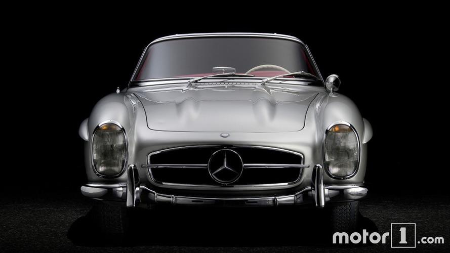 Mercedes-Benz 300 SL Roadster 60th anniversary