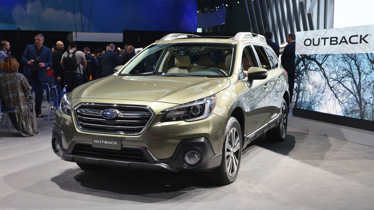 2018 Subaru Outback - New York 2017 photo