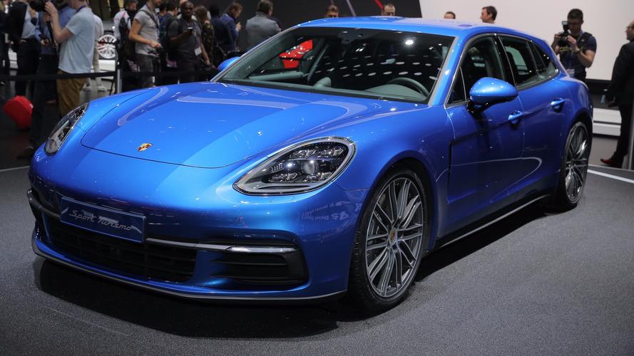 Genève 2017 - La Porsche Panamera Sport Turismo sous tous les angles