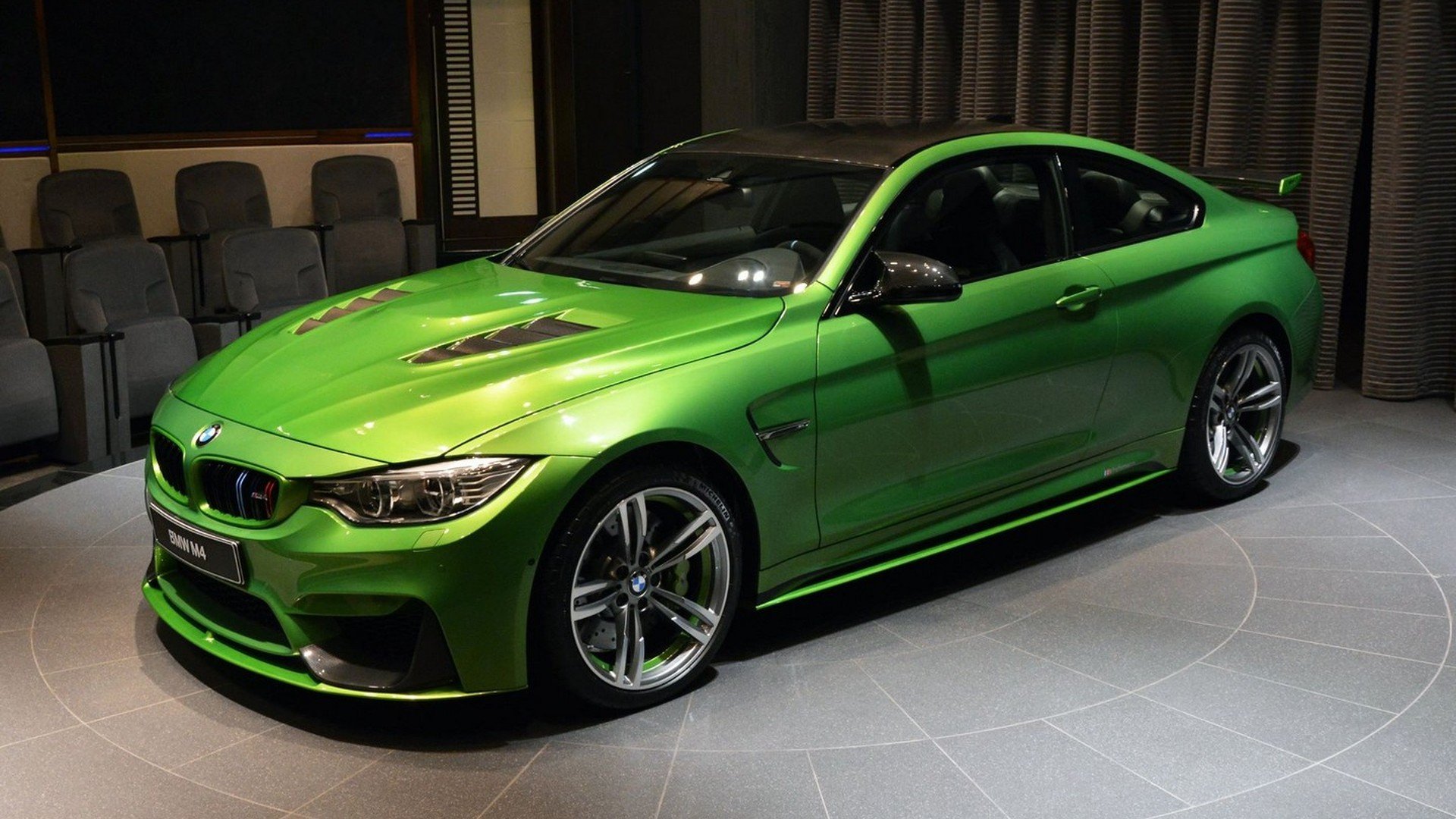 This Bmw M4 Java Green Is Packed With Extra Goodies And